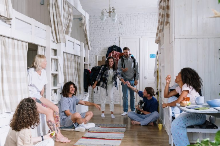 a community of people coliving